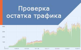 Как узнать сколько осталось трафика на мобильном или домашнем интернете Ростелеком?