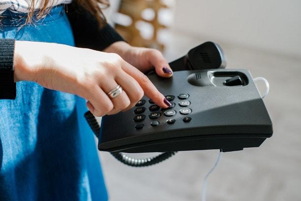 проверка домашнего телефона